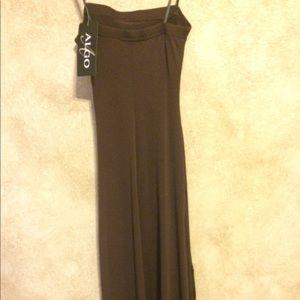 Aldo Dresses - Aldo chocolate brown strapless fitted dress
